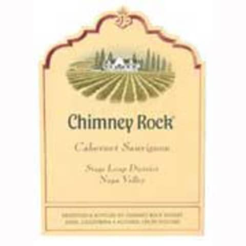 Chimney Rock Cabernet Sauvignon 1999 Front Label