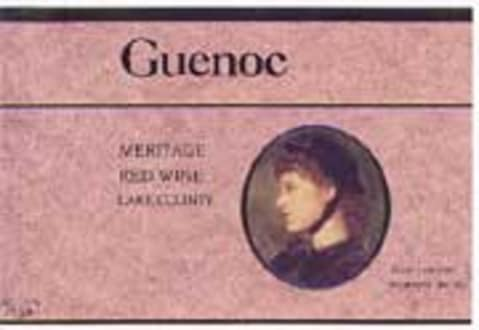 Guenoc Langtry Meritage 1998 Front Label