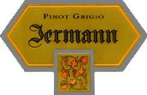 Jermann Pinot Grigio 2001 Front Label