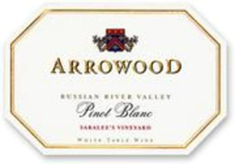 Arrowood Saralee Vineyard Pinot Blanc 2000 Front Label