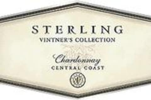 Sterling Vintners Collection Chardonnay 2001 Front Label