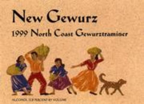 Alexander Valley Vineyards New Gewurz Gewurztraminer 1999 Front Label