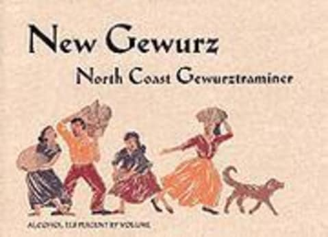 Alexander Valley Vineyards New Gewurz Gewurztraminer 2002 Front Label