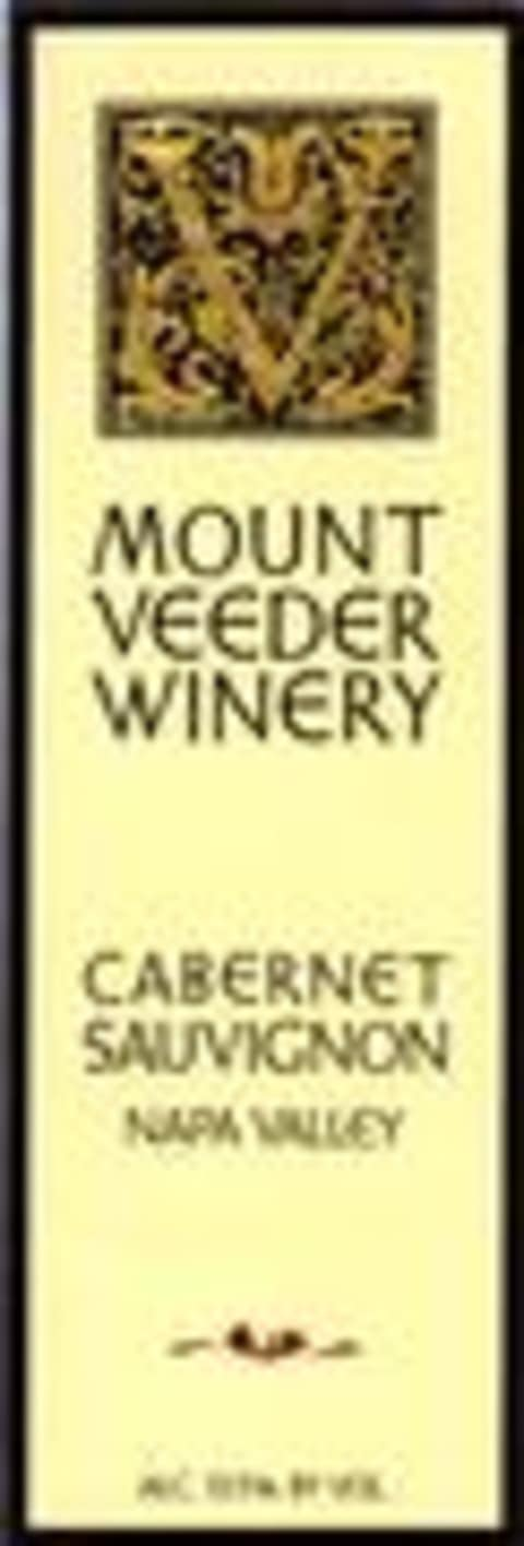 Mount Veeder Winery Cabernet Sauvignon 1996 Front Label