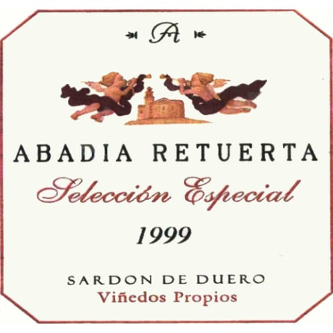 Abadia Retuerta Seleccion Especial 1999 Front Label