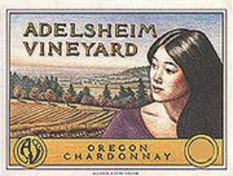 Adelsheim Chardonnay 2001 Front Label