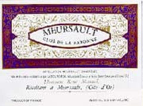Laboure Roi Meursault Blanc (half-bottle) 1998 Front Label