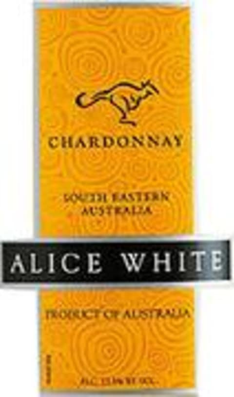Alice White Chardonnay 2002 Front Label