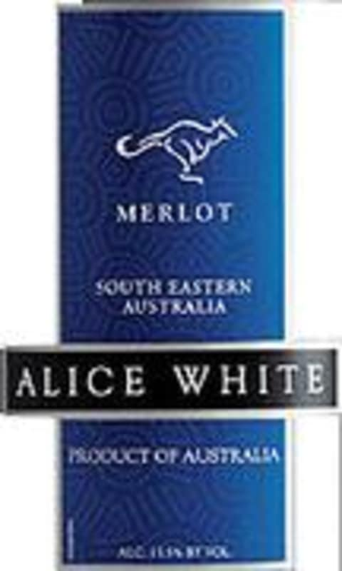 Alice White Merlot 2002 Front Label