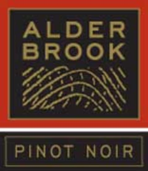 Alderbrook Winery Pinot Noir 2001 Front Label