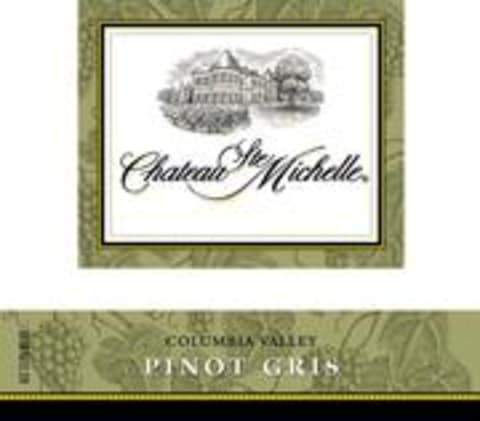 Chateau Ste. Michelle Pinot Gris 2002 Front Label