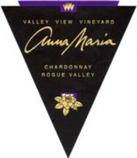 Valley View Vineyard Anna Maria Chardonnay 1998 Front Label