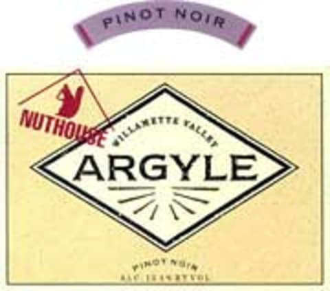 Argyle Nuthouse Pinot Noir 2001 Front Label