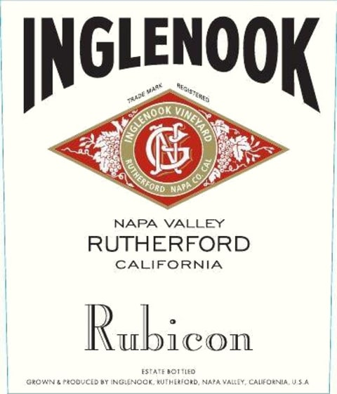 Inglenook Rubicon 2014 Front Label