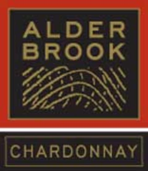 Alderbrook Winery Chardonnay 2001 Front Label