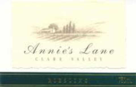 Annie's Lane Riesling 2003 Front Label