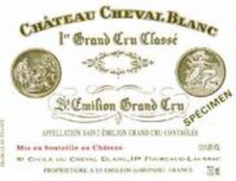 Chateau Cheval Blanc  1979 Front Label