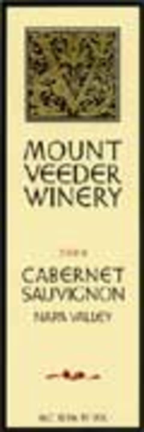 Mount Veeder Winery Cabernet Sauvignon 2000 Front Label