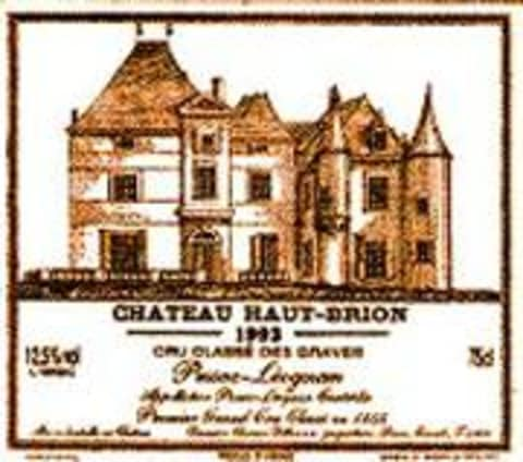 Chateau Haut-Brion  1983 Front Label