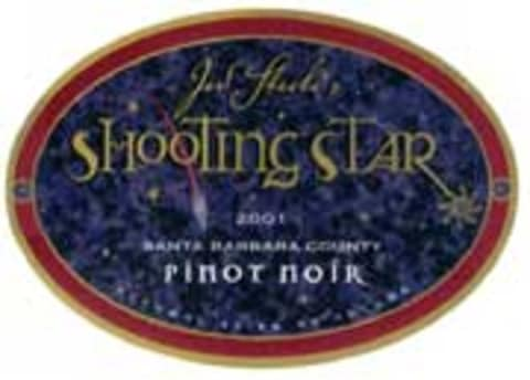 Steele Shooting Star Pinot Noir 2001 Front Label