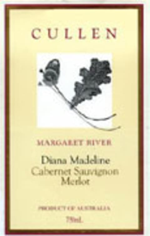 Cullen Diana Madeline 2001 Front Label