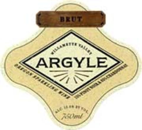 Argyle Brut 1997 Front Label