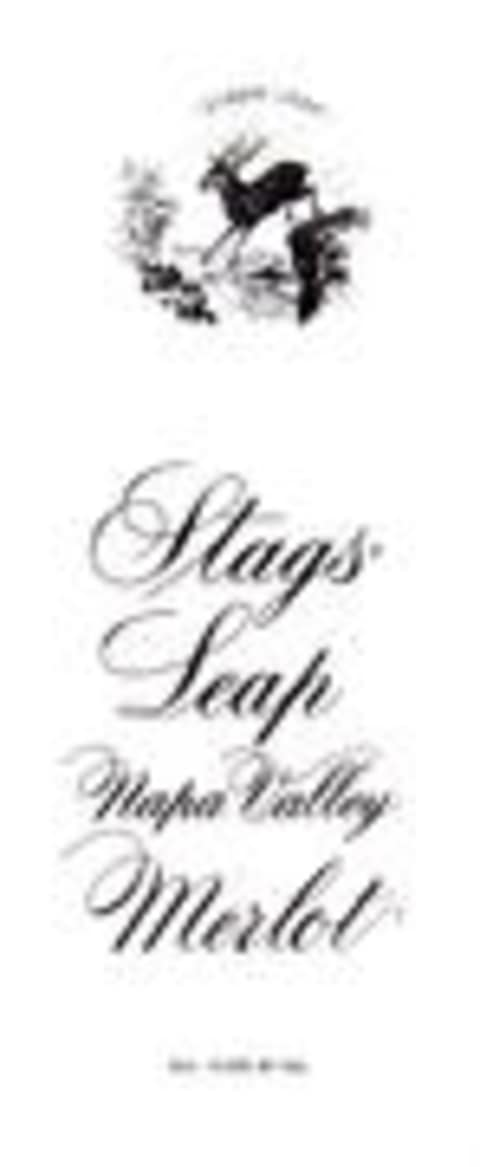 Stags' Leap Winery Merlot 2001 Front Label