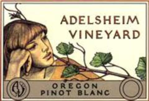 Adelsheim Pinot Blanc 1998 Front Label