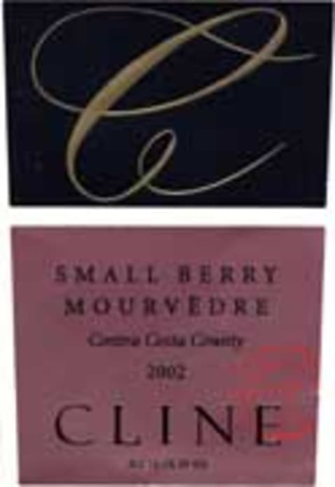 Cline Small Berry Mourvedre 2002 Front Label