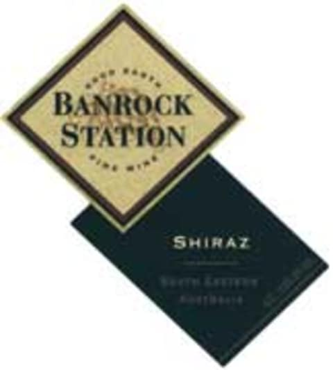 Banrock Station Shiraz 2003 Front Label