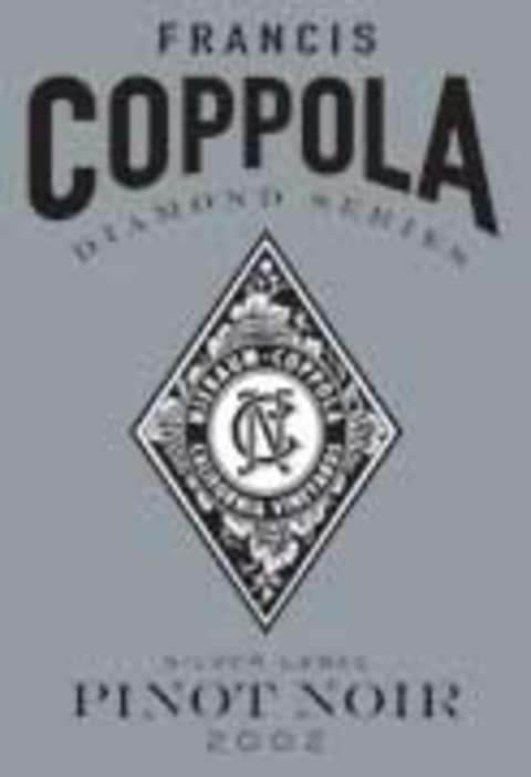 Francis Ford Coppola Diamond Collection Pinot Noir 2002 Front Label