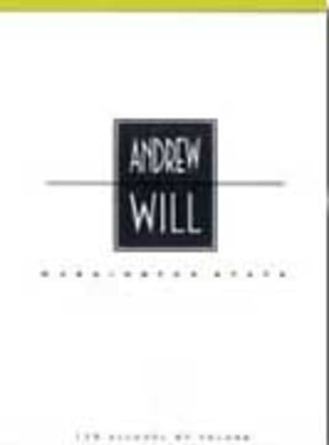 Andrew Will Winery Champoux Vineyard Red 2001 Front Label