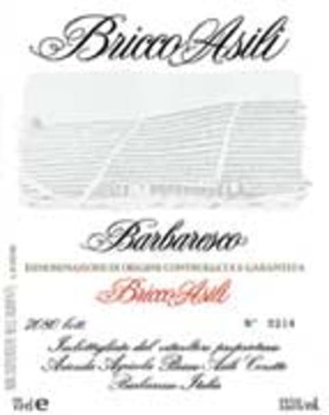 Ceretto Bricco Asili Barbaresco 2000 Front Label