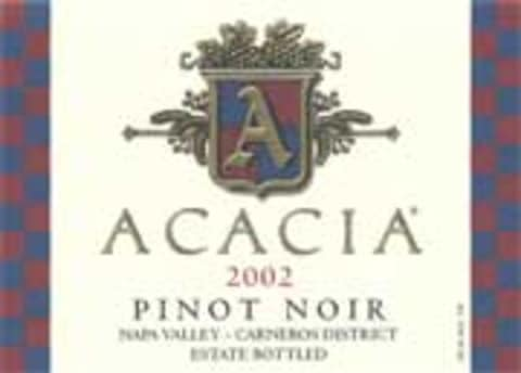 Acacia Carneros Pinot Noir 2002 Front Label