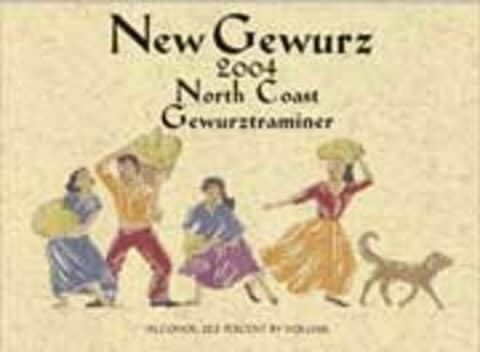 Alexander Valley Vineyards New Gewurz Gewurztraminer 2004 Front Label
