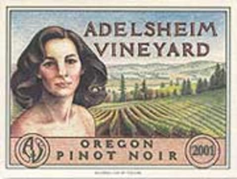 Adelsheim Pinot Noir (half-bottle) 2003 Front Label