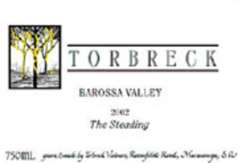 Torbreck The Steading 2002 Front Label