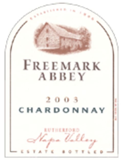 Freemark Abbey Chardonnay 2003 Front Label