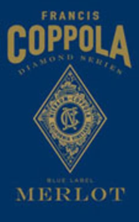 Francis Ford Coppola Diamond Collection Merlot 2003 Front Label