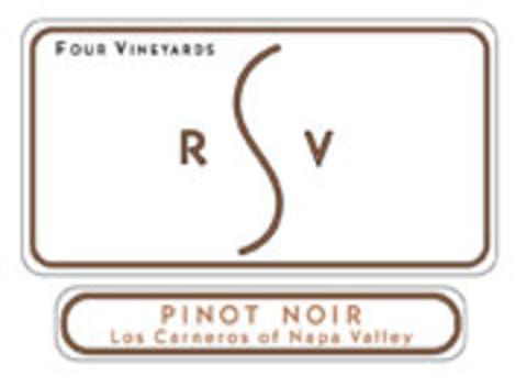 Robert Sinskey Four Vineyards Pinot Noir 2001 Front Label
