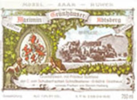 Maximin Grunhauser Abtsberg Riesling Spatlese 2003 Front Label