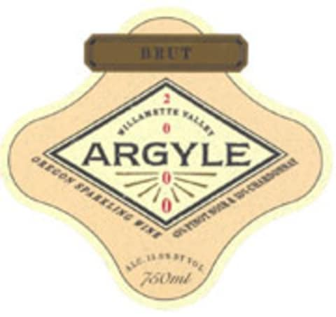 Argyle Brut 2000 Front Label