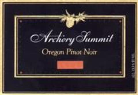 Archery Summit Estate Pinot Noir 1997 Front Label