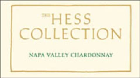Hess Collection Mt. Veeder Chardonnay 2004 Front Label