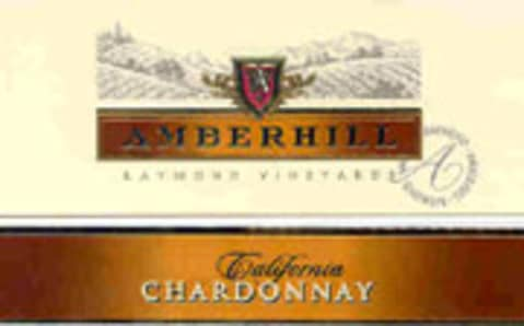Amberhill Chardonnay 2004 Front Label