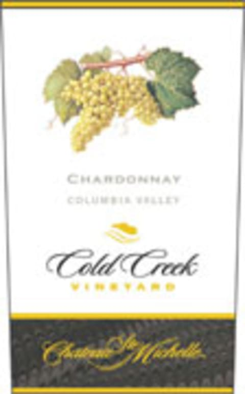 Chateau Ste. Michelle Cold Creek Vineyard Chardonnay 2004 Front Label