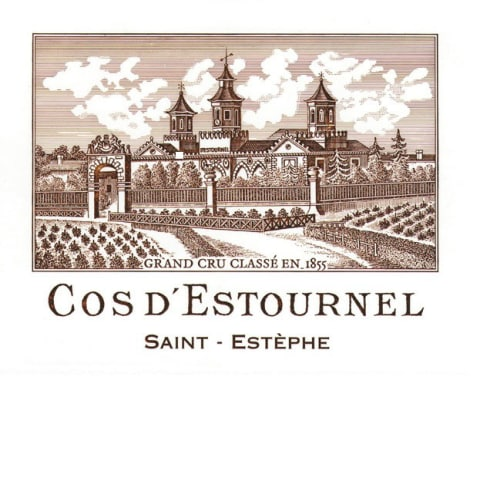 Chateau Cos d'Estournel  2002 Front Label