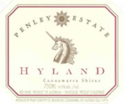 Penley Estate Hyland Shiraz 2003 Front Label