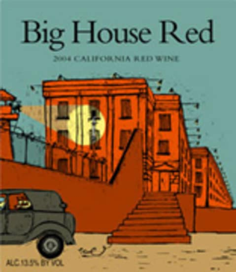 Big House Red Blend 2004 Front Label