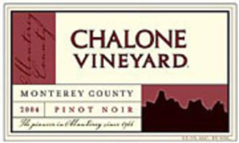 Chalone Monterey County Pinot Noir 2004 Front Label
